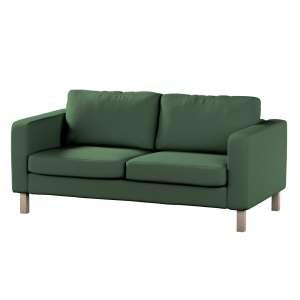 Karlstad 2-Sitzer Sofabezug nicht ausklappbar Sofahusse, Karlstad 2-Sitzer von der Kollektion Cotton Panama, Stoff: 702-06