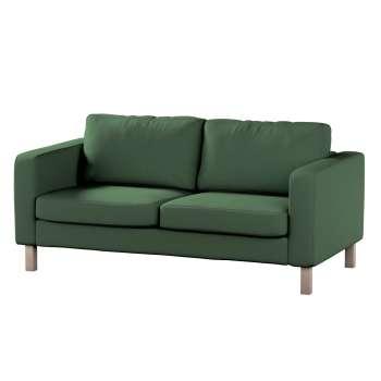Pokrowiec na sofę Karlstad 2-osobową nierozkładaną krótki Sofa Karlstad 2-osobowa w kolekcji Cotton Panama, tkanina: 702-06