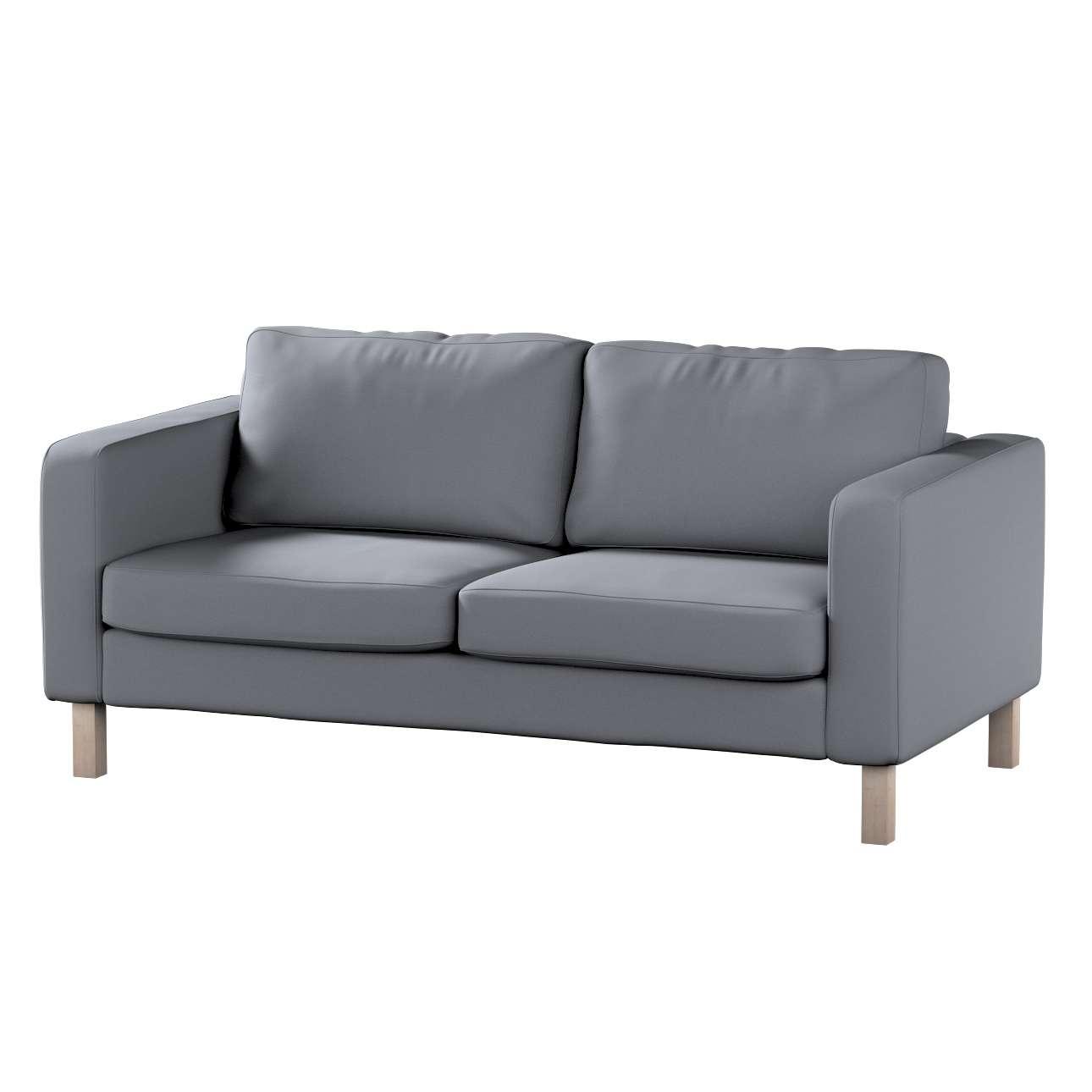 Potah na pohovku IKEA  Karlstad 2-místná, nerozkládací, krátký v kolekci Cotton Panama, látka: 702-07
