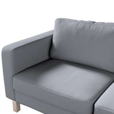 Karlstad 2-seater sofa cover in collection Panama Cotton, fabric: 702-07