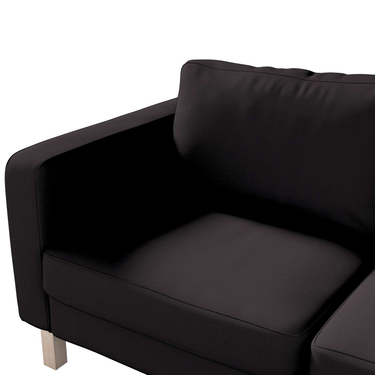IKEA zitbankhoes/ overtrek voor Karlstad 2-zitsbank van de collectie Cotton Panama, Stof: 702-08
