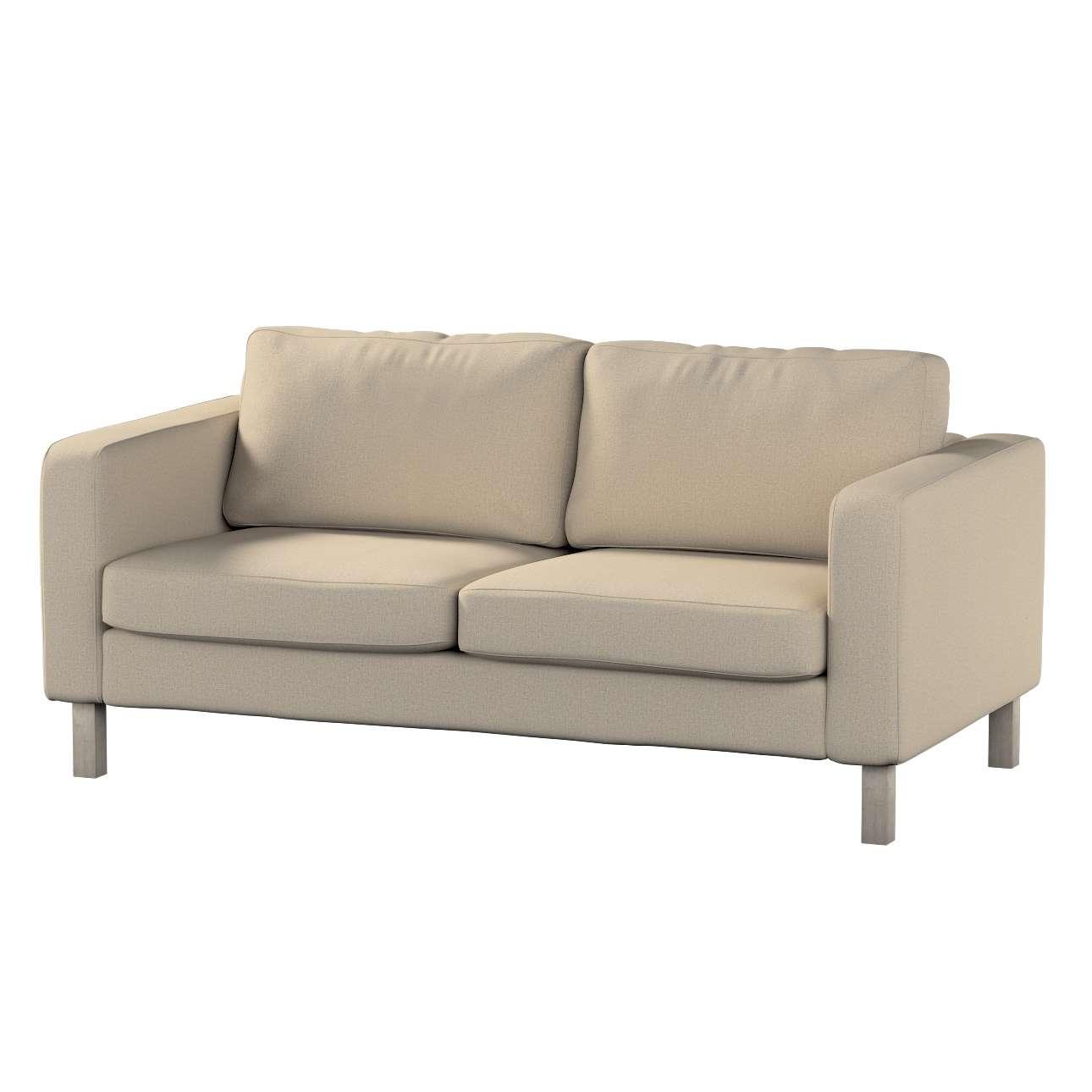 Pokrowiec na sofę Karlstad 2-osobową nierozkładaną krótki Sofa Karlstad 2-osobowa w kolekcji Edinburgh, tkanina: 115-78