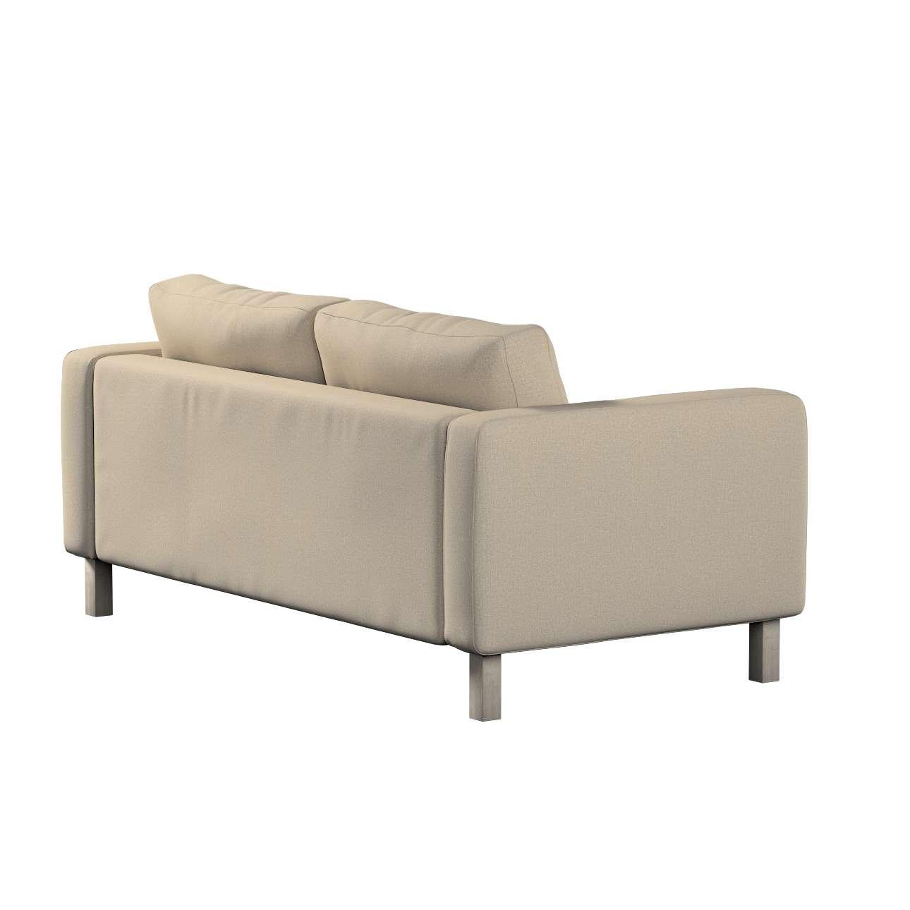 Pokrowiec na sofę Karlstad 2-osobową nierozkładaną krótki w kolekcji Edinburgh, tkanina: 115-78