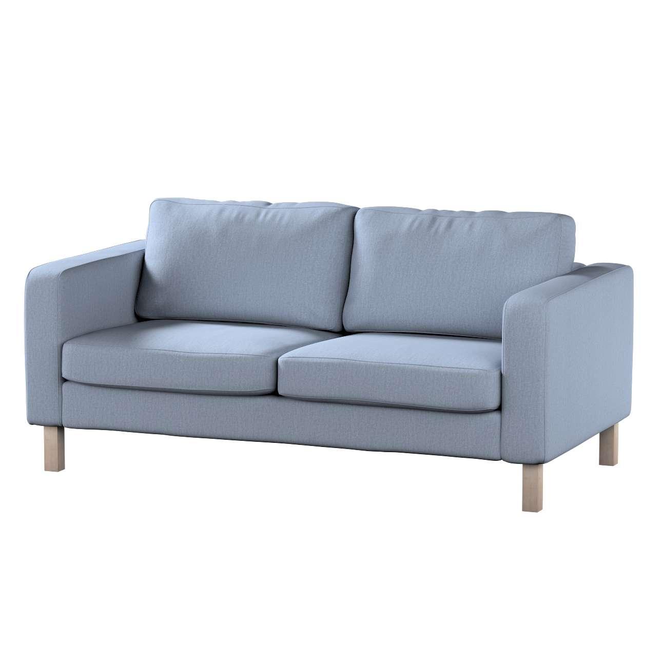 Pokrowiec na sofę Karlstad 2-osobową nierozkładaną krótki Sofa Karlstad 2-osobowa w kolekcji Chenille, tkanina: 702-13
