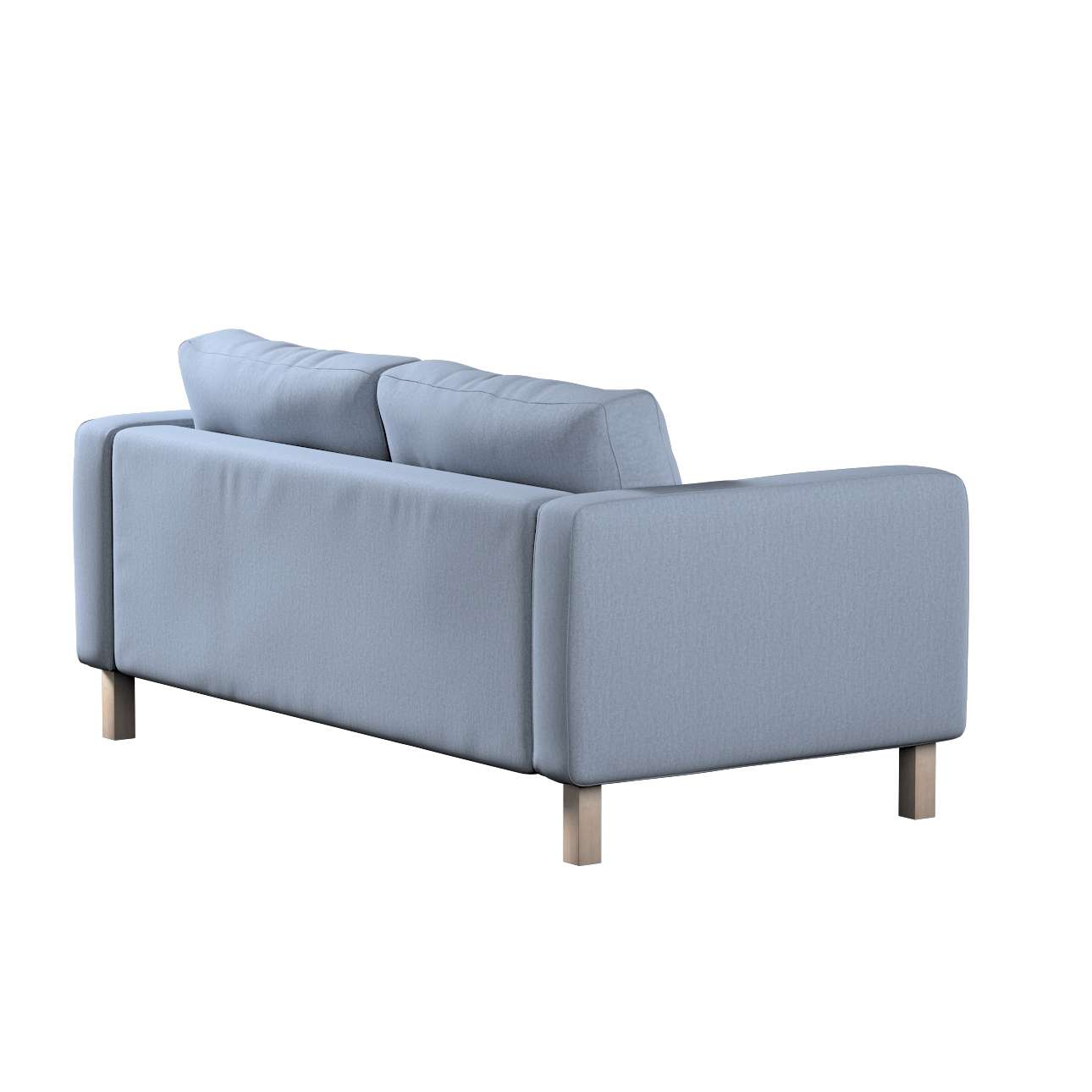 Karlstad 2-seater sofa cover in collection Chenille, fabric: 702-13