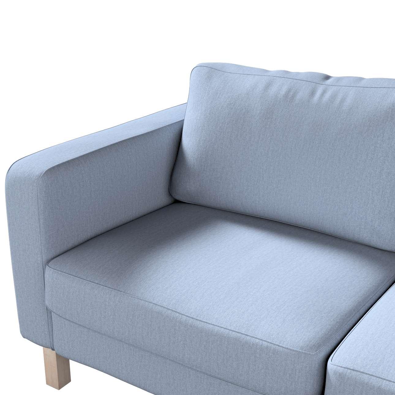 Pokrowiec na sofę Karlstad 2-osobową nierozkładaną krótki w kolekcji Chenille, tkanina: 702-13