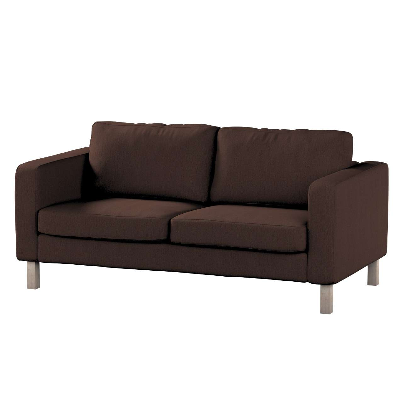 Pokrowiec na sofę Karlstad 2-osobową nierozkładaną krótki Sofa Karlstad 2-osobowa w kolekcji Chenille, tkanina: 702-18