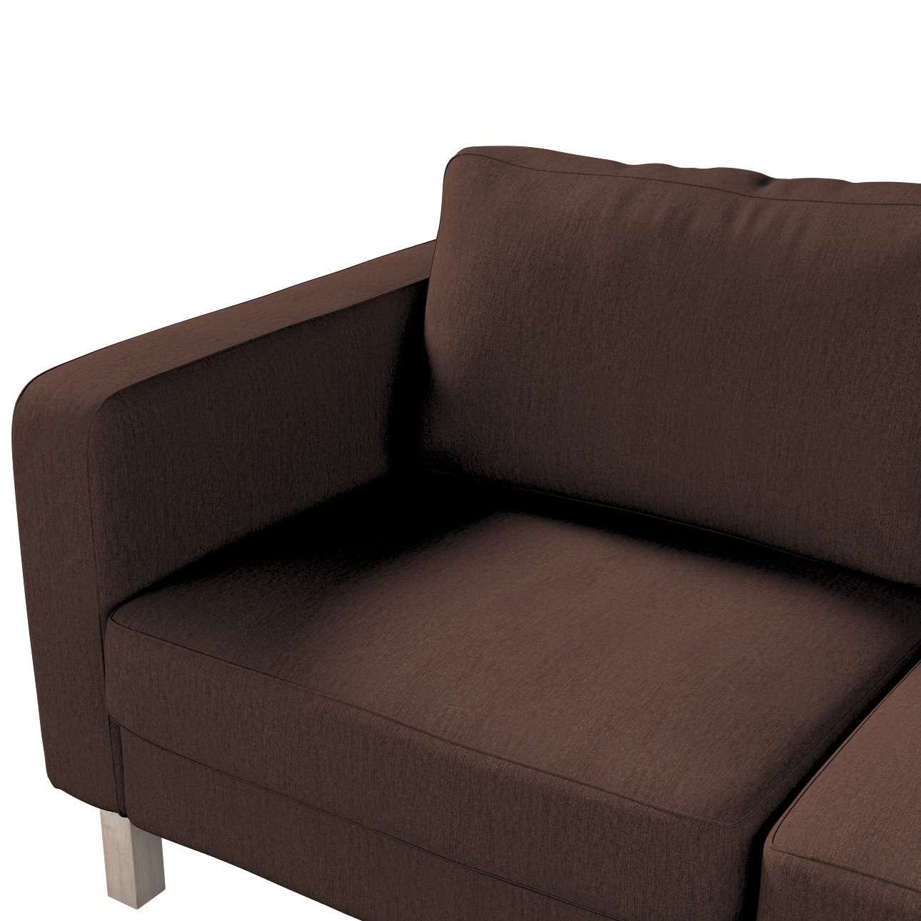 Karlstad 2-seater sofa cover in collection Chenille, fabric: 702-18