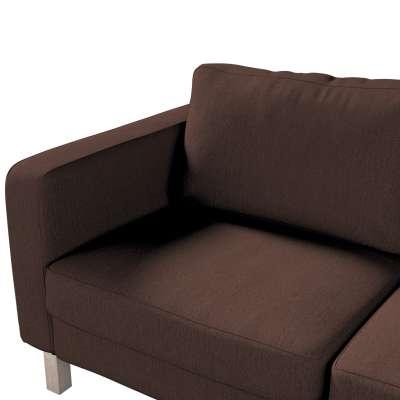 Pokrowiec na sofę Karlstad 2-osobową nierozkładaną krótki w kolekcji Chenille, tkanina: 702-18