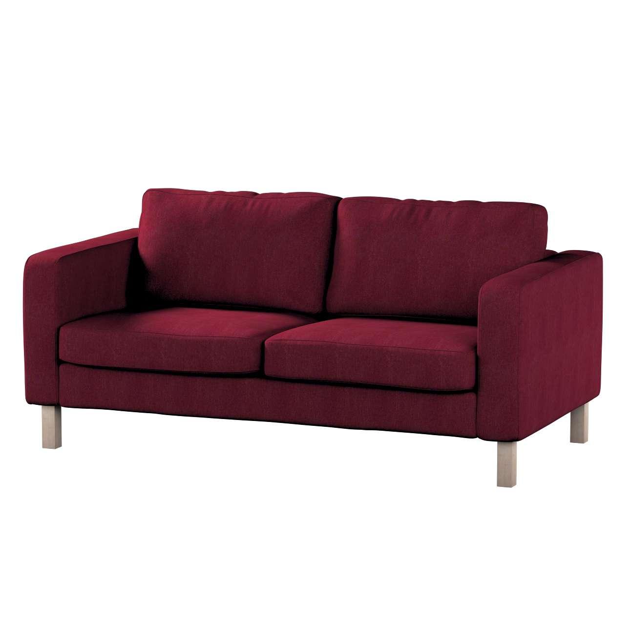 Pokrowiec na sofę Karlstad 2-osobową nierozkładaną krótki Sofa Karlstad 2-osobowa w kolekcji Chenille, tkanina: 702-19