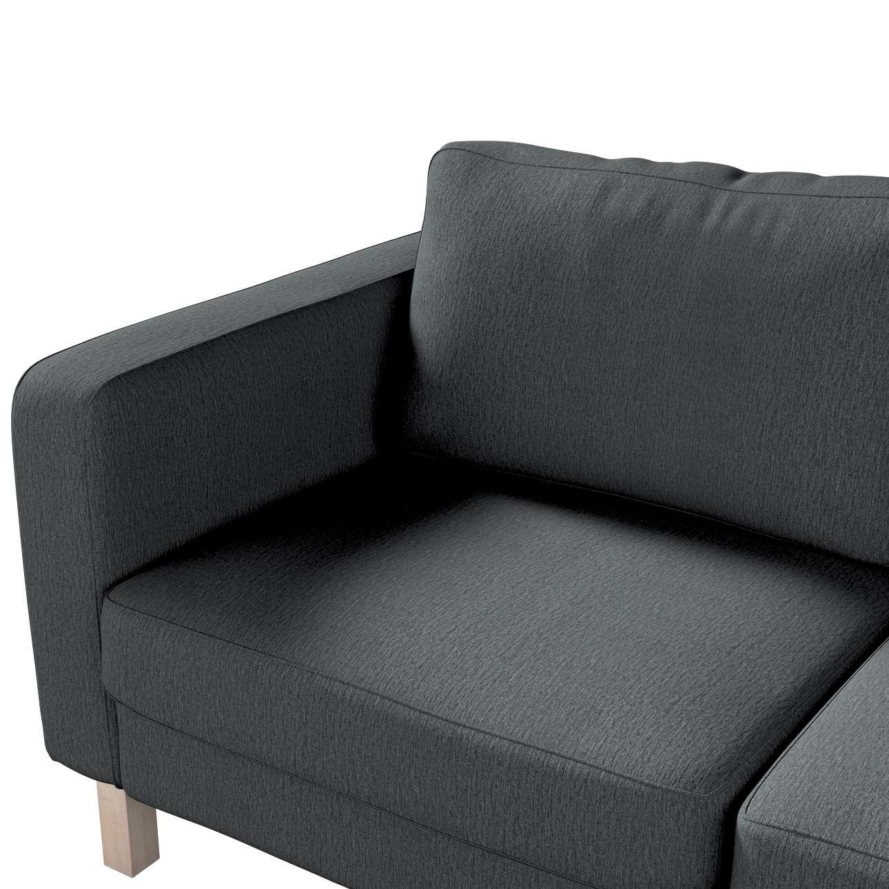 Pokrowiec na sofę Karlstad 2-osobową nierozkładaną krótki w kolekcji Chenille, tkanina: 702-20