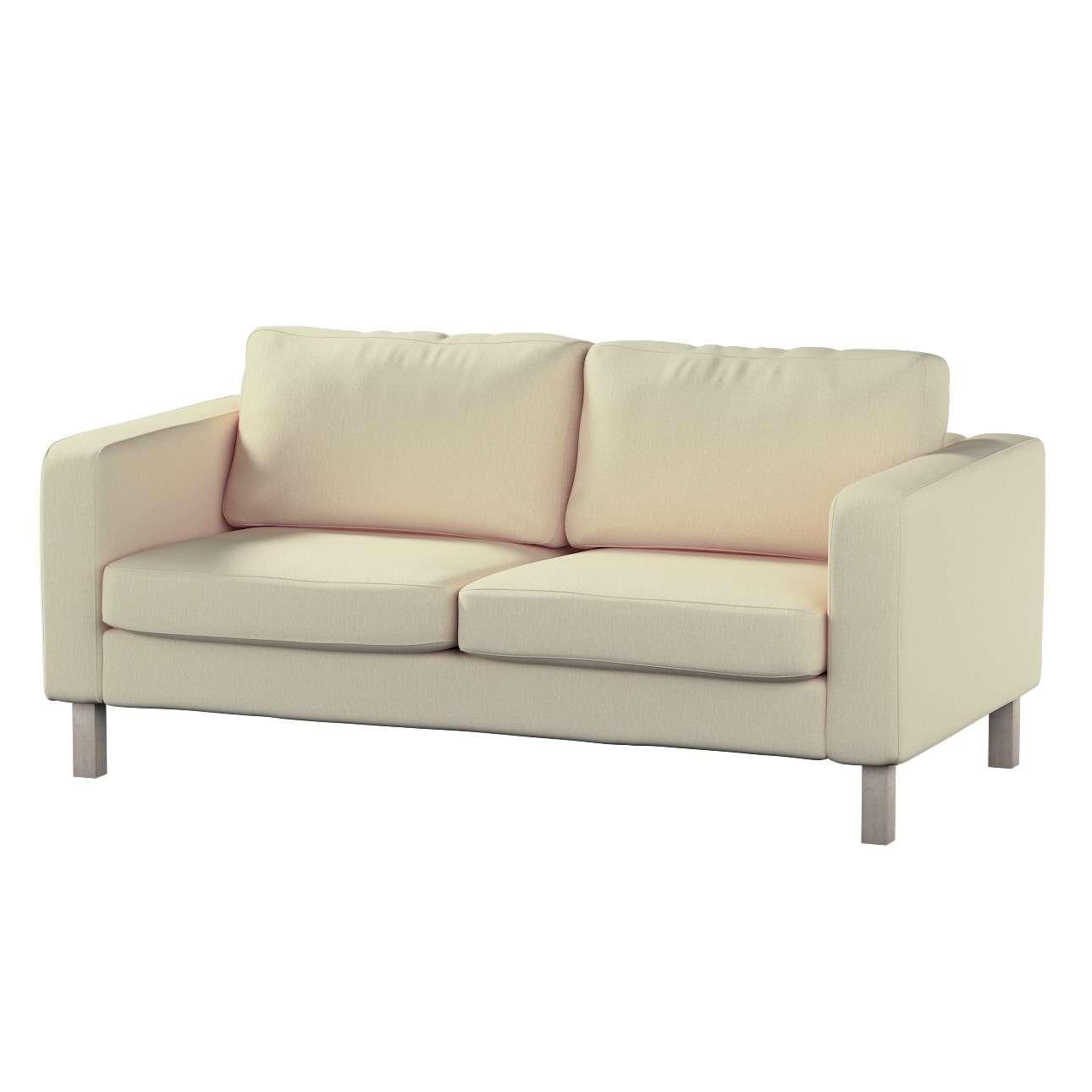Karlstad 2-Sitzer Sofabezug nicht ausklappbar Sofahusse, Karlstad 2-Sitzer von der Kollektion Chenille , Stoff: 702-22
