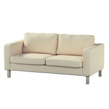 Pokrowiec na sofę Karlstad 2-osobową nierozkładaną krótki w kolekcji Chenille, tkanina: 702-22