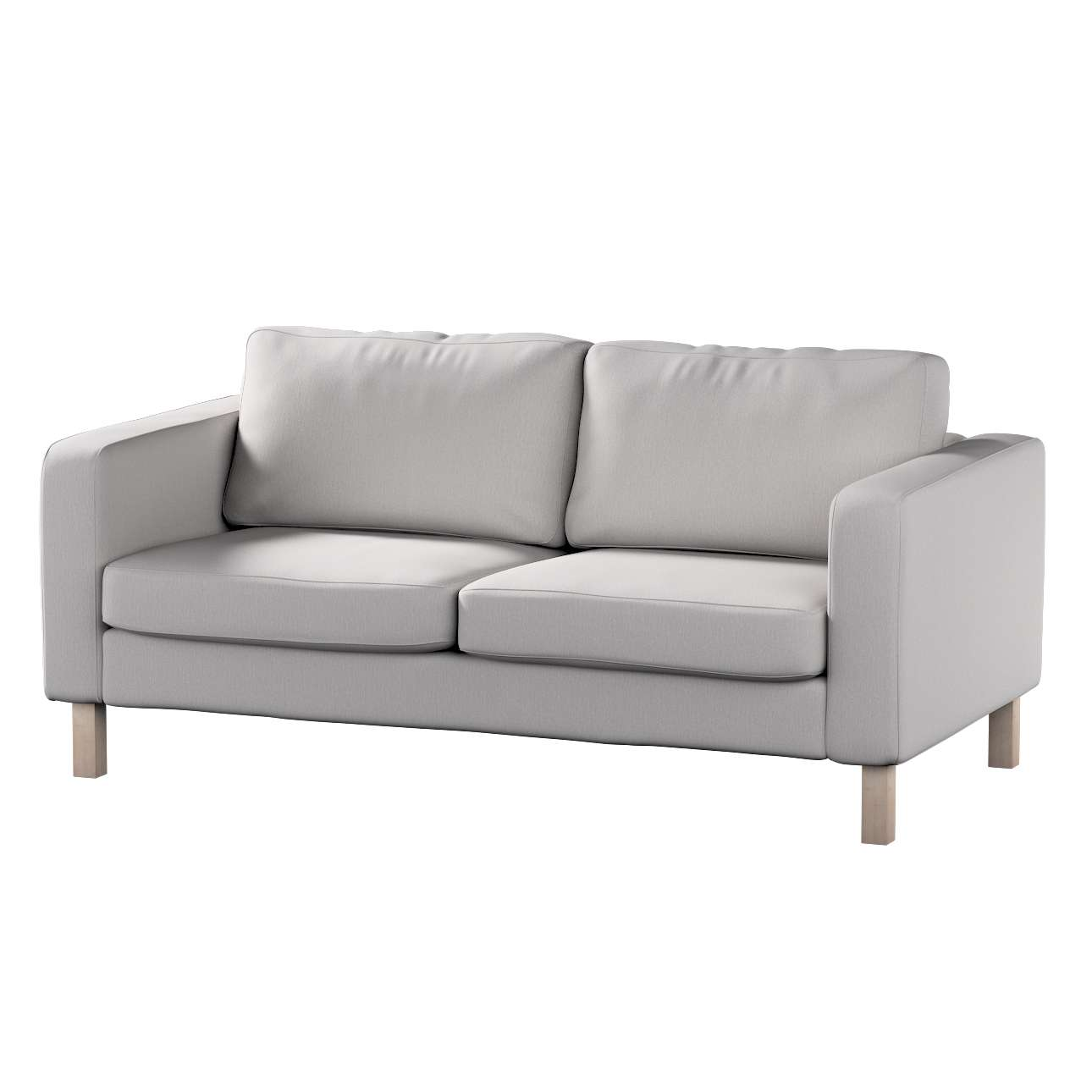 Karlstad 2-seater sofa cover in collection Chenille, fabric: 702-23