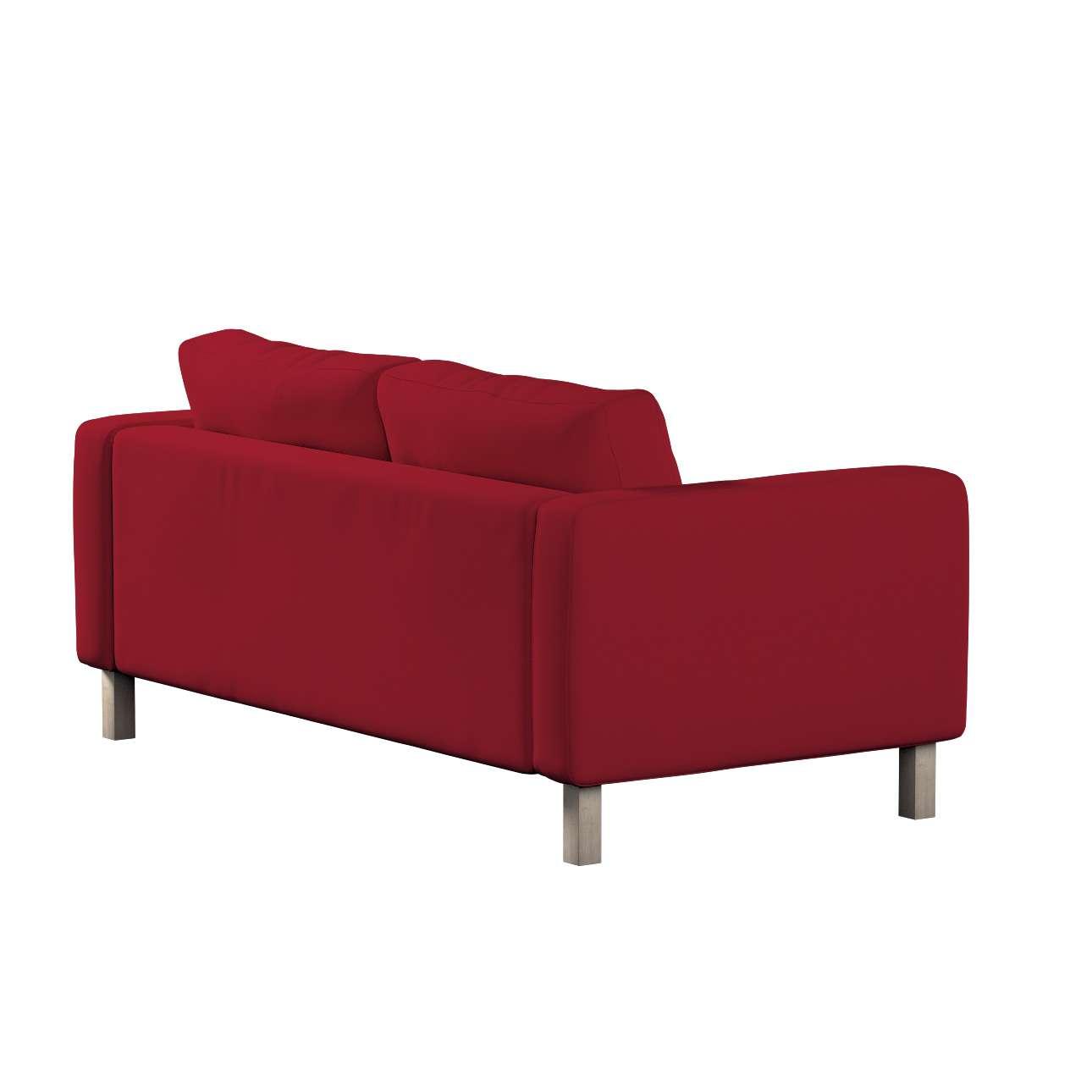 Pokrowiec na sofę Karlstad 2-osobową nierozkładaną krótki w kolekcji Chenille, tkanina: 702-24