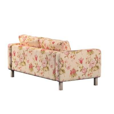 Pokrowiec na sofę Karlstad 2-osobową nierozkładaną krótki w kolekcji Londres, tkanina: 123-05