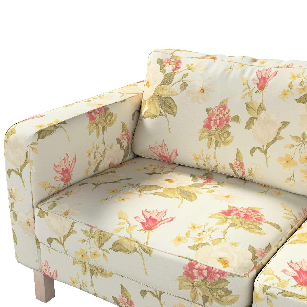 Karlstad 2-Sitzer Sofabezug nicht ausklappbar von der Kollektion Londres, Stoff: 123-65