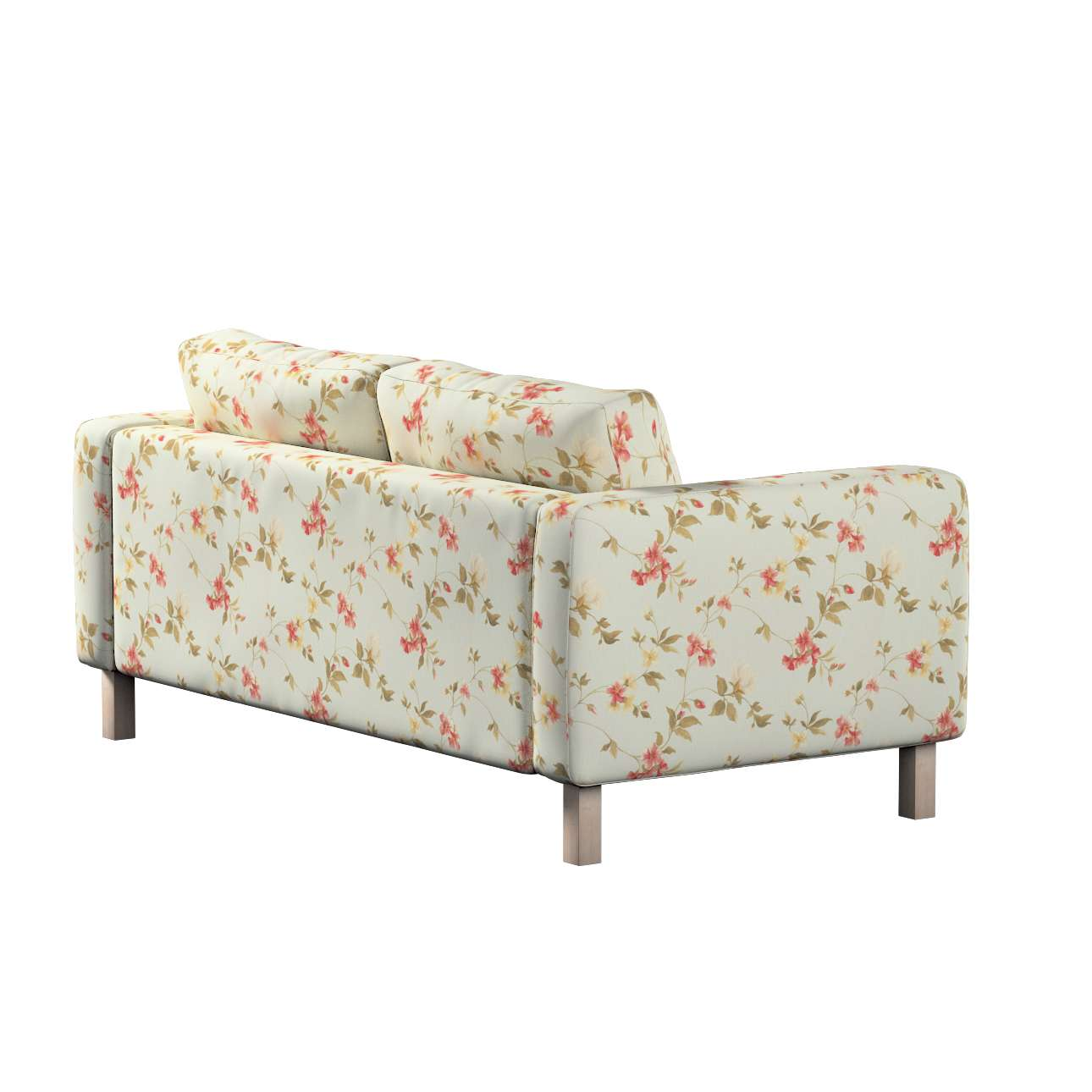 Pokrowiec na sofę Karlstad 2-osobową nierozkładaną krótki w kolekcji Londres, tkanina: 124-65