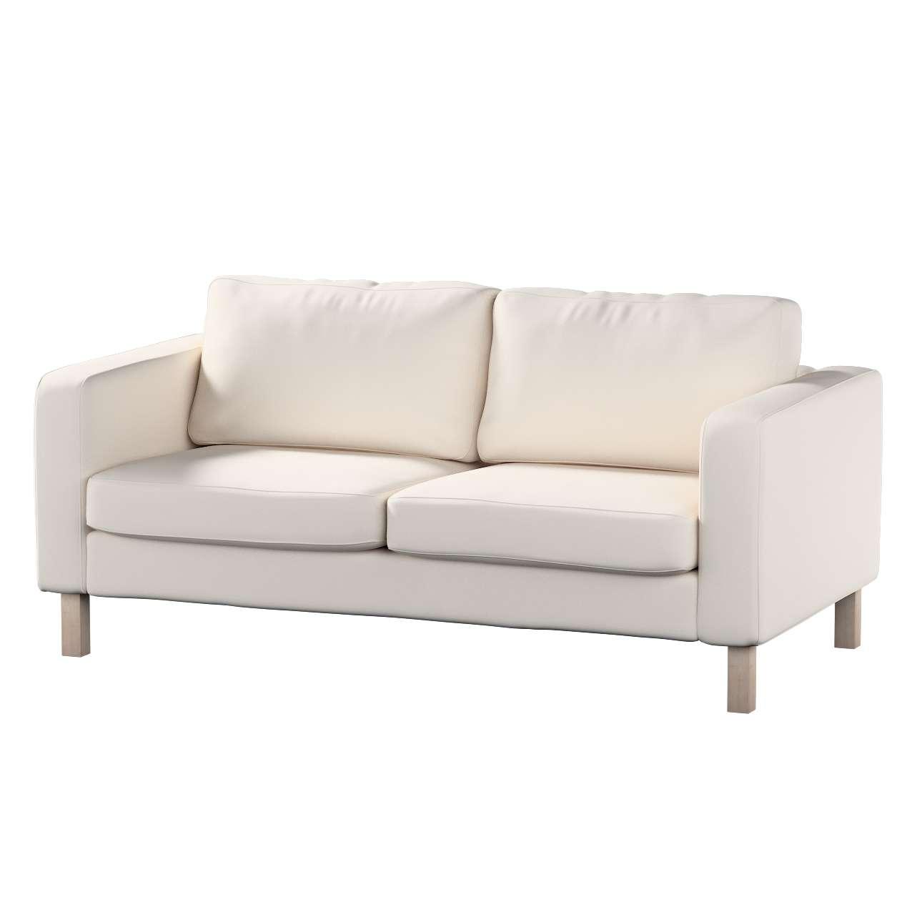 Pokrowiec na sofę Karlstad 2-osobową nierozkładaną krótki Sofa Karlstad 2-osobowa w kolekcji Etna , tkanina: 705-01