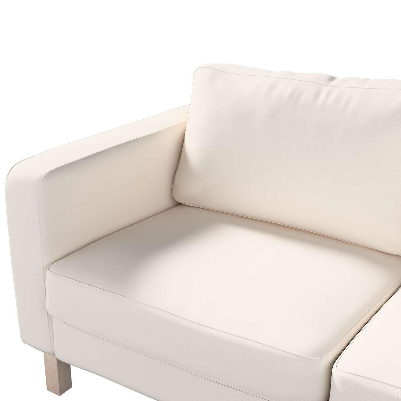 Pokrowiec na sofę Karlstad 2-osobową nierozkładaną krótki w kolekcji Etna, tkanina: 705-01