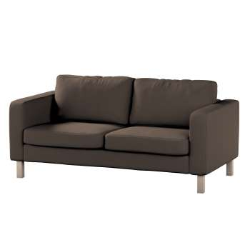 Pokrowiec na sofę Karlstad 2-osobową nierozkładaną krótki w kolekcji Etna , tkanina: 705-08
