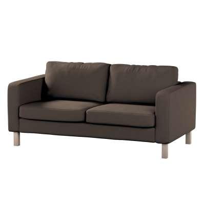 Pokrowiec na sofę Karlstad 2-osobową nierozkładaną krótki w kolekcji Etna, tkanina: 705-08