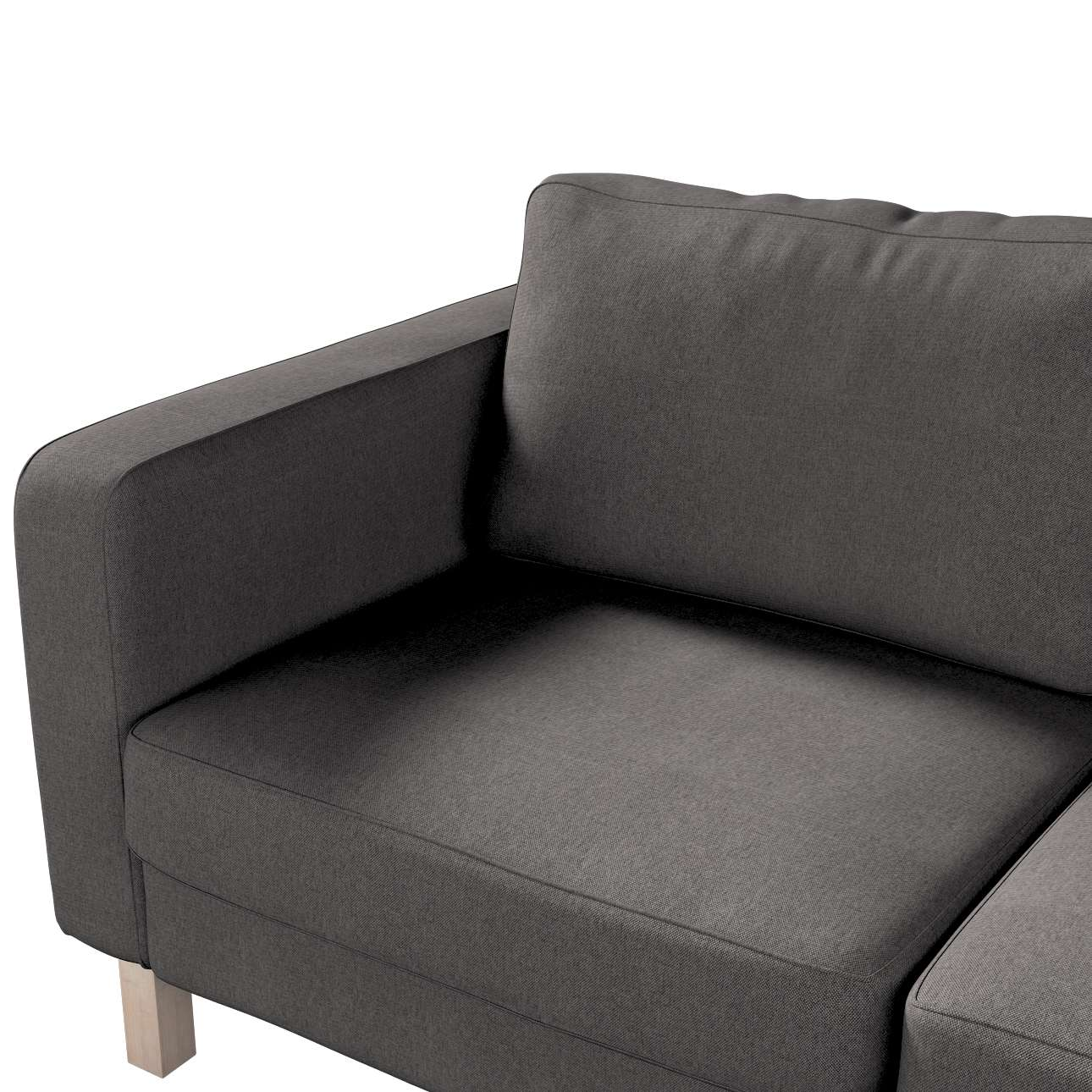 Karlstad 2-seater sofa cover in collection Etna, fabric: 705-35