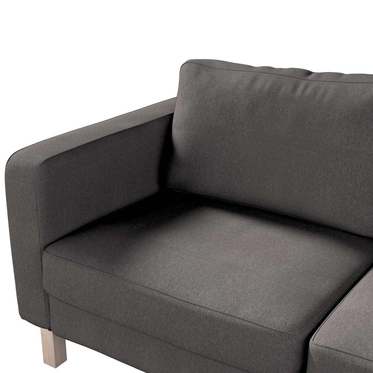 Pokrowiec na sofę Karlstad 2-osobową nierozkładaną krótki w kolekcji Etna, tkanina: 705-35
