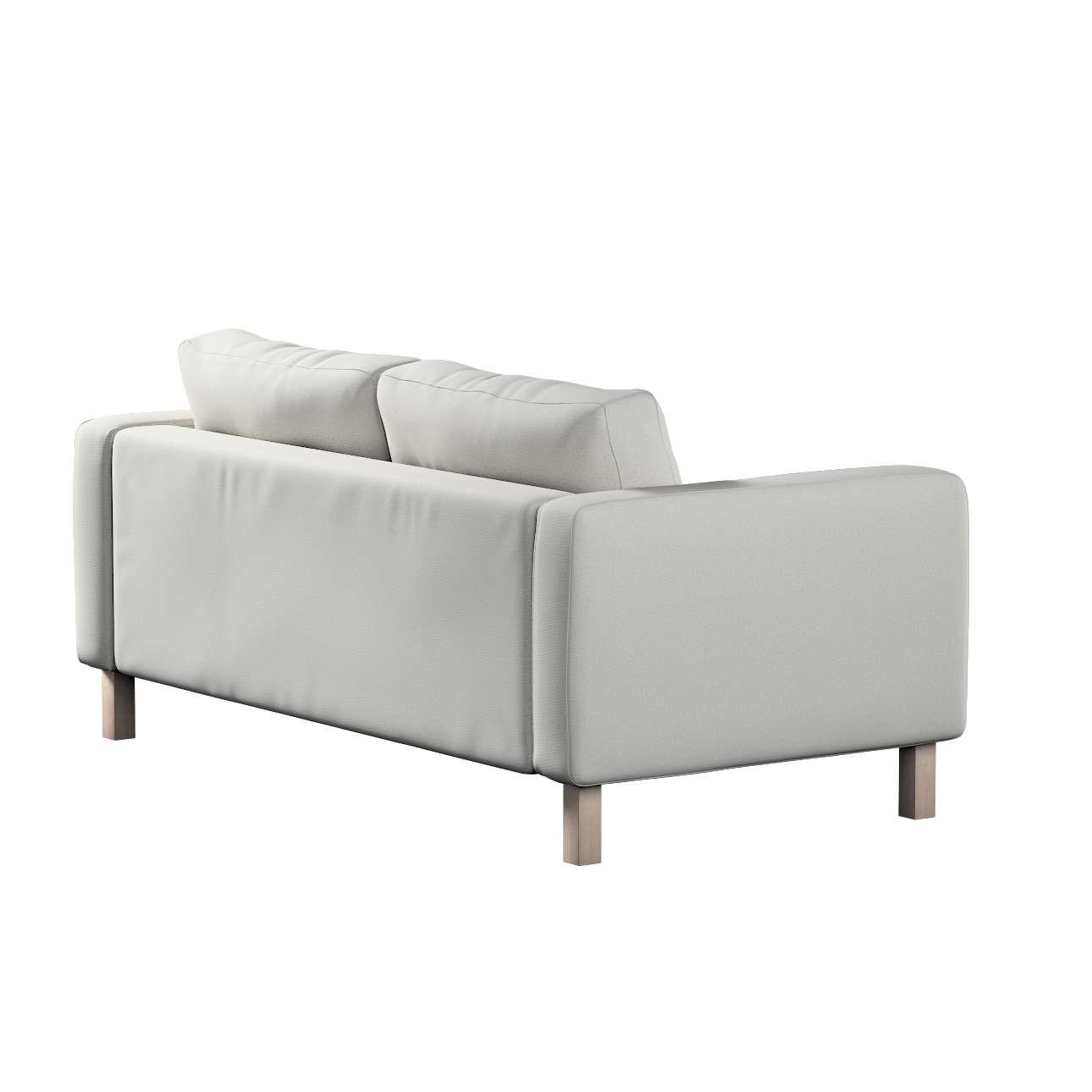 Pokrowiec na sofę Karlstad 2-osobową nierozkładaną krótki w kolekcji Etna, tkanina: 705-90