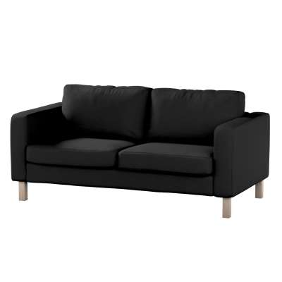 Pokrowiec na sofę Karlstad 2-osobową nierozkładaną krótki w kolekcji Etna, tkanina: 705-00