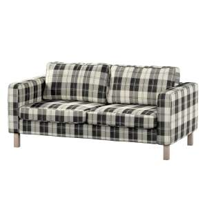Pokrowiec na sofę Karlstad 2-osobową nierozkładaną krótki Sofa Karlstad 2-osobowa w kolekcji Edinburgh, tkanina: 115-74