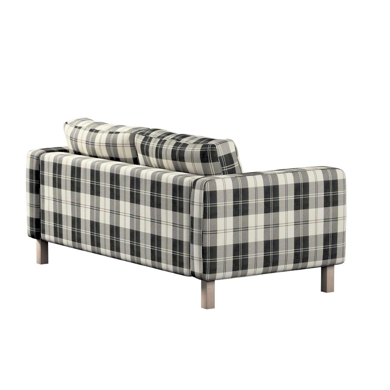 Potah na pohovku IKEA  Karlstad 2-místná, nerozkládací, krátký v kolekci Edinburgh, látka: 115-74