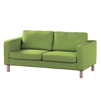 Karlstad 2-seater sofa cover in collection Panama Cotton, fabric: 702-27