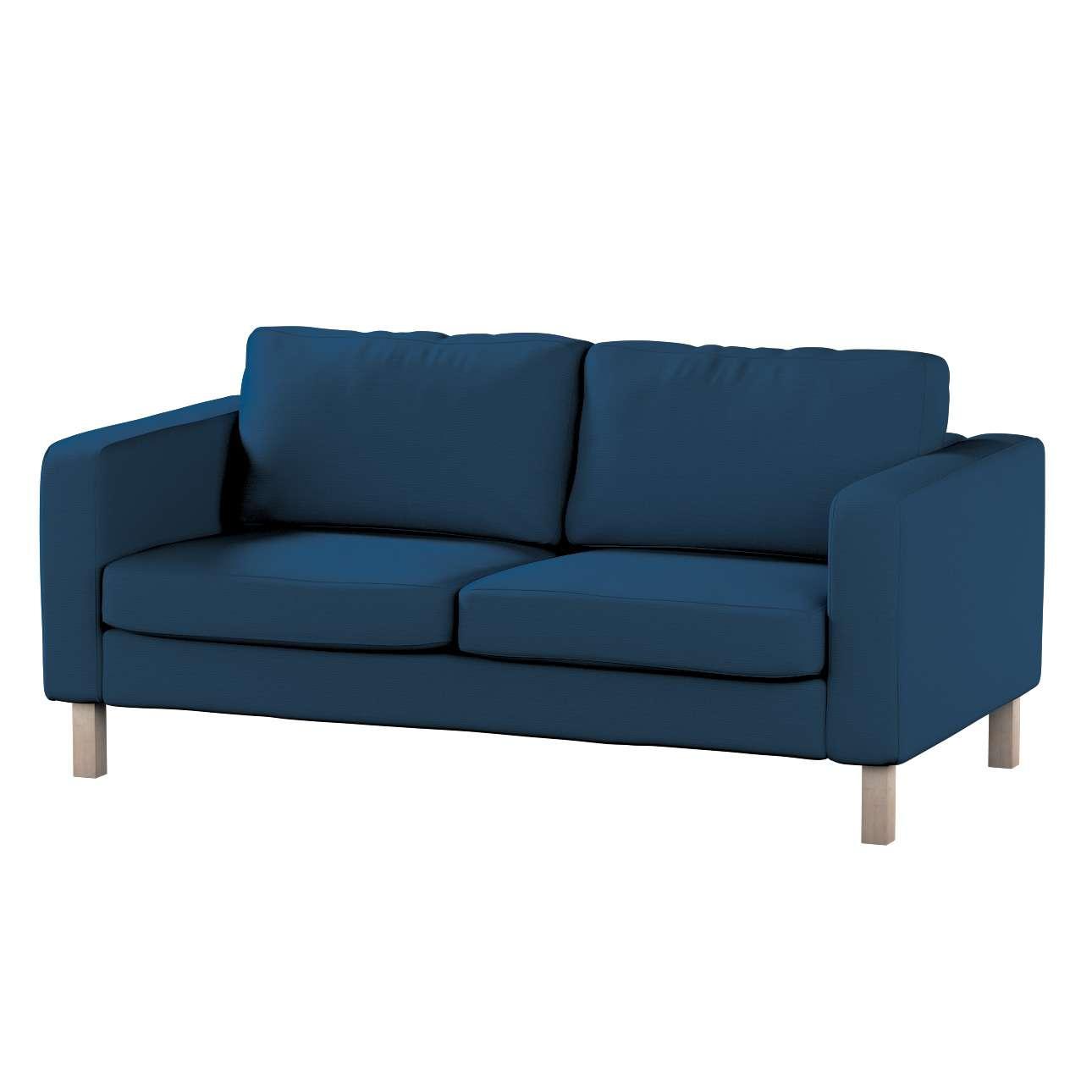 Potah na pohovku IKEA  Karlstad 2-místná, nerozkládací, krátký pohovka Karlstad 2-místná v kolekci Cotton Panama, látka: 702-30