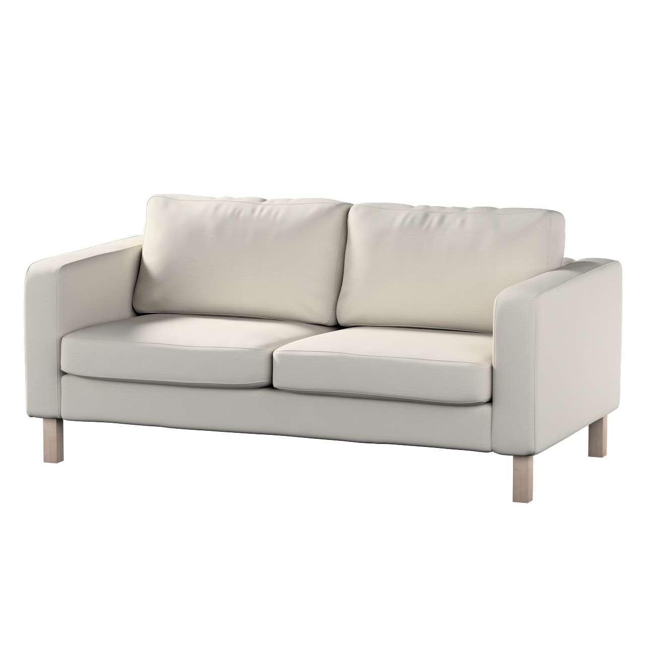 Pokrowiec na sofę Karlstad 2-osobową nierozkładaną krótki Sofa Karlstad 2-osobowa w kolekcji Cotton Panama, tkanina: 702-31