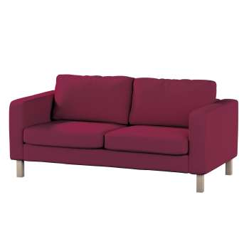 Karlstad 2-seater sofa cover in collection Panama Cotton, fabric: 702-32