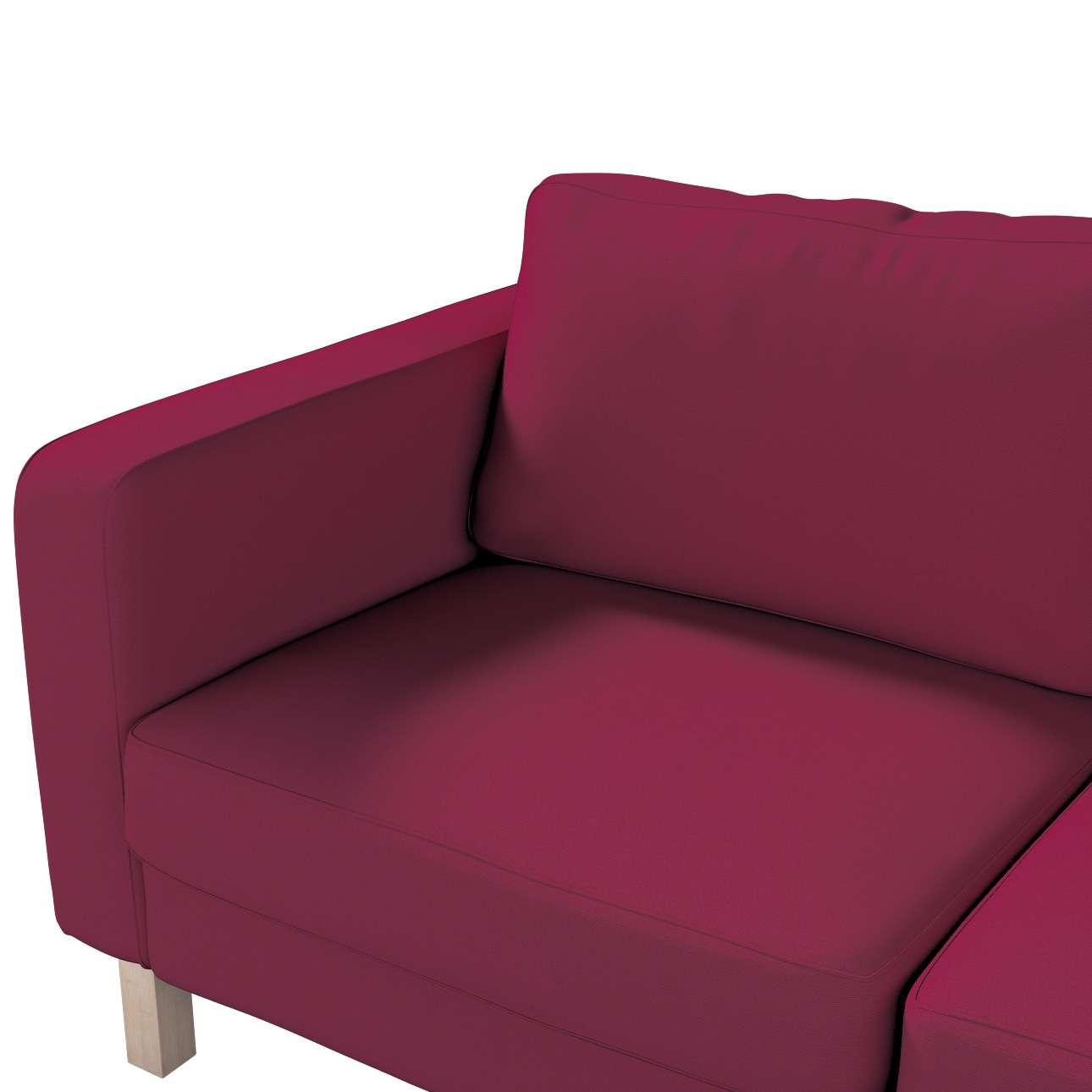 IKEA zitbankhoes/ overtrek voor Karlstad 2-zitsbank van de collectie Cotton Panama, Stof: 702-32