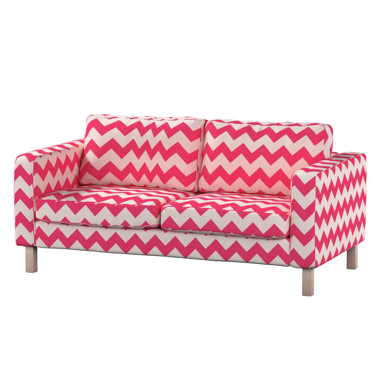 Karlstad 2-seater sofa cover in collection Comics/Geometrical, fabric: 135-00