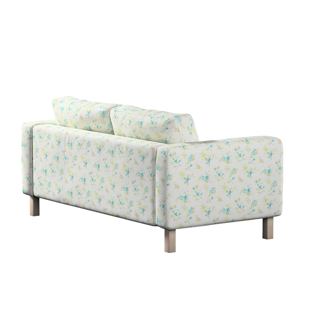 Karlstad 2-seater sofa cover in collection Mirella, fabric: 141-16
