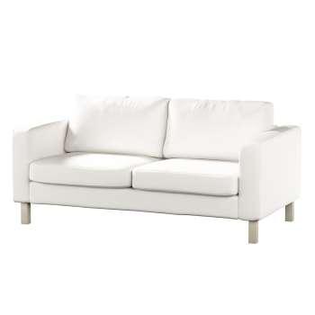 Karlstad 2-Sitzer Sofabezug nicht ausklappbar von der Kollektion Cotton Panama, Stoff: 702-34
