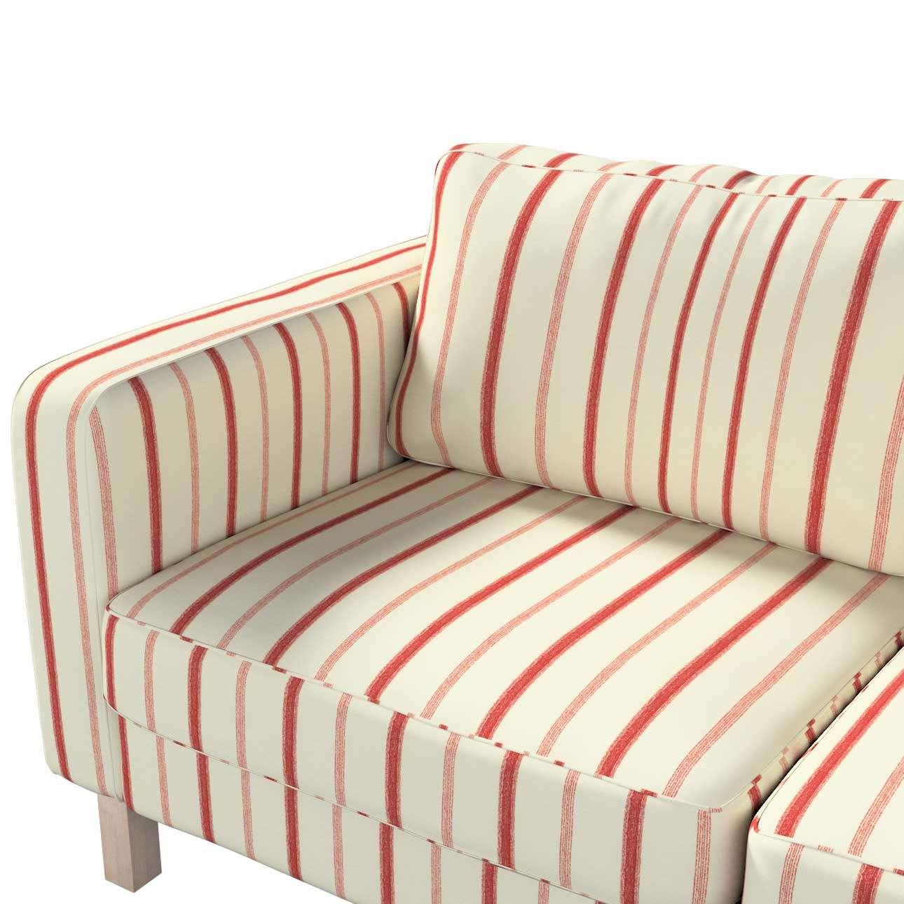 Pokrowiec na sofę Karlstad 2-osobową nierozkładaną krótki w kolekcji Avinon, tkanina: 129-15