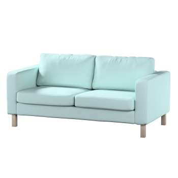 Karlstad 2-seater sofa cover in collection Panama Cotton, fabric: 702-10