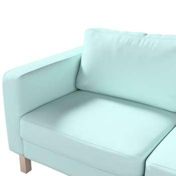 Pokrowiec na sofę Karlstad 2-osobową nierozkładaną krótki w kolekcji Cotton Panama, tkanina: 702-10