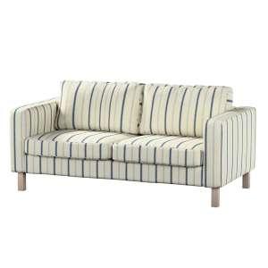 Pokrowiec na sofę Karlstad 2-osobową nierozkładaną krótki Sofa Karlstad 2-osobowa w kolekcji Avinon, tkanina: 129-66