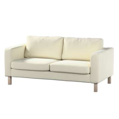 Karlstad 2-seater sofa cover in collection Velvet, fabric: 704-10