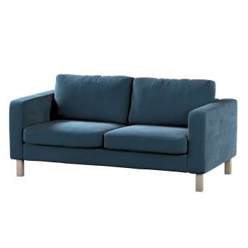 Karlstad 2-seater sofa cover in collection Velvet, fabric: 704-16