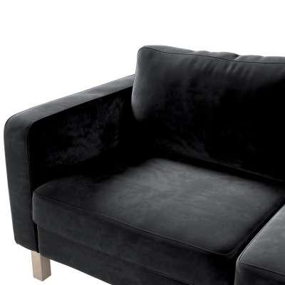 IKEA zitbankhoes/ overtrek voor Karlstad 2-zitsbank van de collectie Velvet, Stof: 704-17