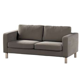 Karlstad 2-seater sofa cover in collection Velvet, fabric: 704-19