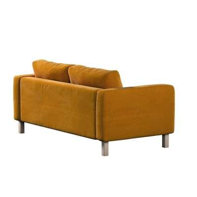 Pokrowiec na sofę Karlstad 2-osobową nierozkładaną krótki w kolekcji Velvet, tkanina: 704-23