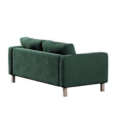 Potah na pohovku IKEA  Karlstad 2-místná, nerozkládací, krátký v kolekci Velvet, látka: 704-25
